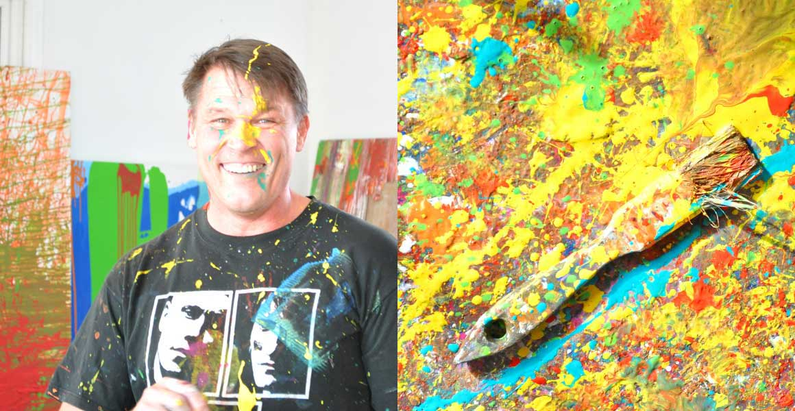 Specialevents im Action Painting