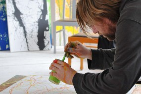 Kurse im Action Painting Atelier